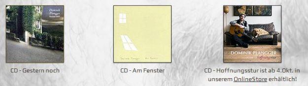 Kostproben von Dominik Planggers CDs