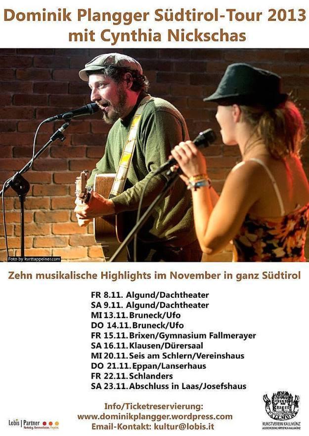 Die Südtirol-Tour 2013 steht bevor
