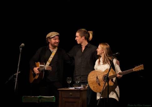 Dominik Plangger, Chriss Bass, Cynthia Nickschas - Foto by Elias Gamper